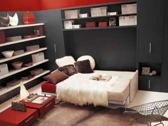 Postelja v omari – je to mogoče?