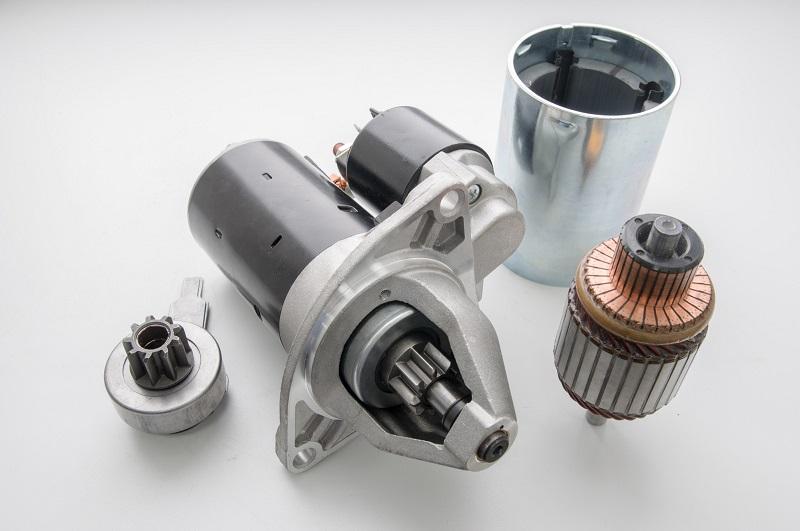 Zganjalnik motorja je del avtoelektrike